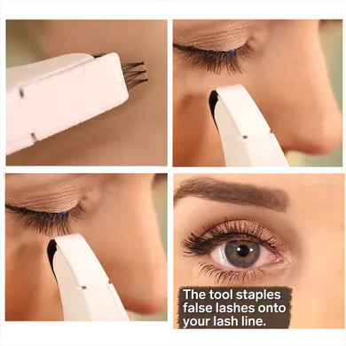 False Eyelashes Stapler Set - Hamarini2