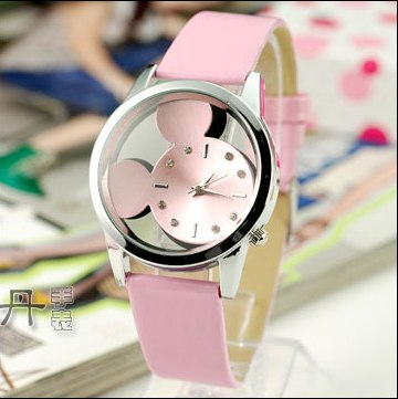 Womens/kids Mouse Watch (Free With Purchase Of Another Item) - Pink - Quartz Watches