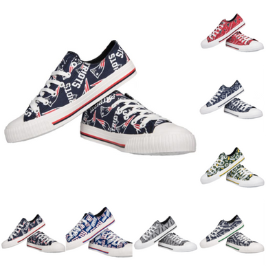 Womens Football Canvas Shoes - Pick Your Team - Shoes