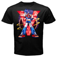 Voltes V Mazinger Z Classic 70S Cartoon Cotton T-Shirts - Voltes V Black / S - T-Shirts