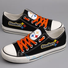 Pittsburgh Fans Canvas Sneakers