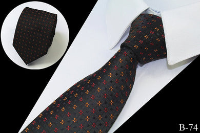 Slim Luxury 100% Silk Jacquard Woven Neck Ties (Buy 1 Take 1) - Hamarin i2
