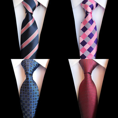 Mens Plaid & Stripes Neck Ties (Buy 1 Take 1) - Hamarin i2