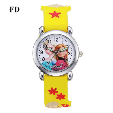 Princess Childrens Sports Watch $14.75 - Yellow - Childrens Watches