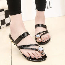 Womens Fab Sandals - Black / 5 - Slippers