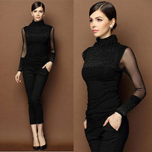 Princess Beaded Turtle Neck - Hamarin i2