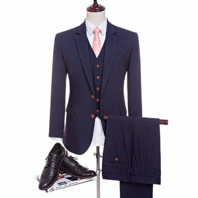 Men's Suit 3 piece (Jacket+Pant+Vest) - Hamarini2