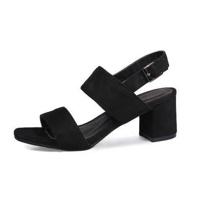 Strappy Low Heel Sandals for Women - hamarini2.com