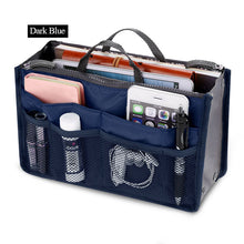 Womens Cosmetic Organizer Bag (Free With Purchase Of Any Item) - Dark Blue - Cosmetic Bags & Cases