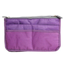 Womens Cosmetic Organizer Bag (Free With Purchase Of Any Item) - Purple - Cosmetic Bags & Cases
