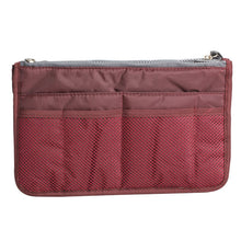 Womens Cosmetic Organizer Bag (Free With Purchase Of Any Item) - Wine Red - Cosmetic Bags & Cases