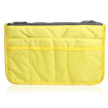Womens Cosmetic Organizer Bag (Free With Purchase Of Any Item) - Yellow - Cosmetic Bags & Cases
