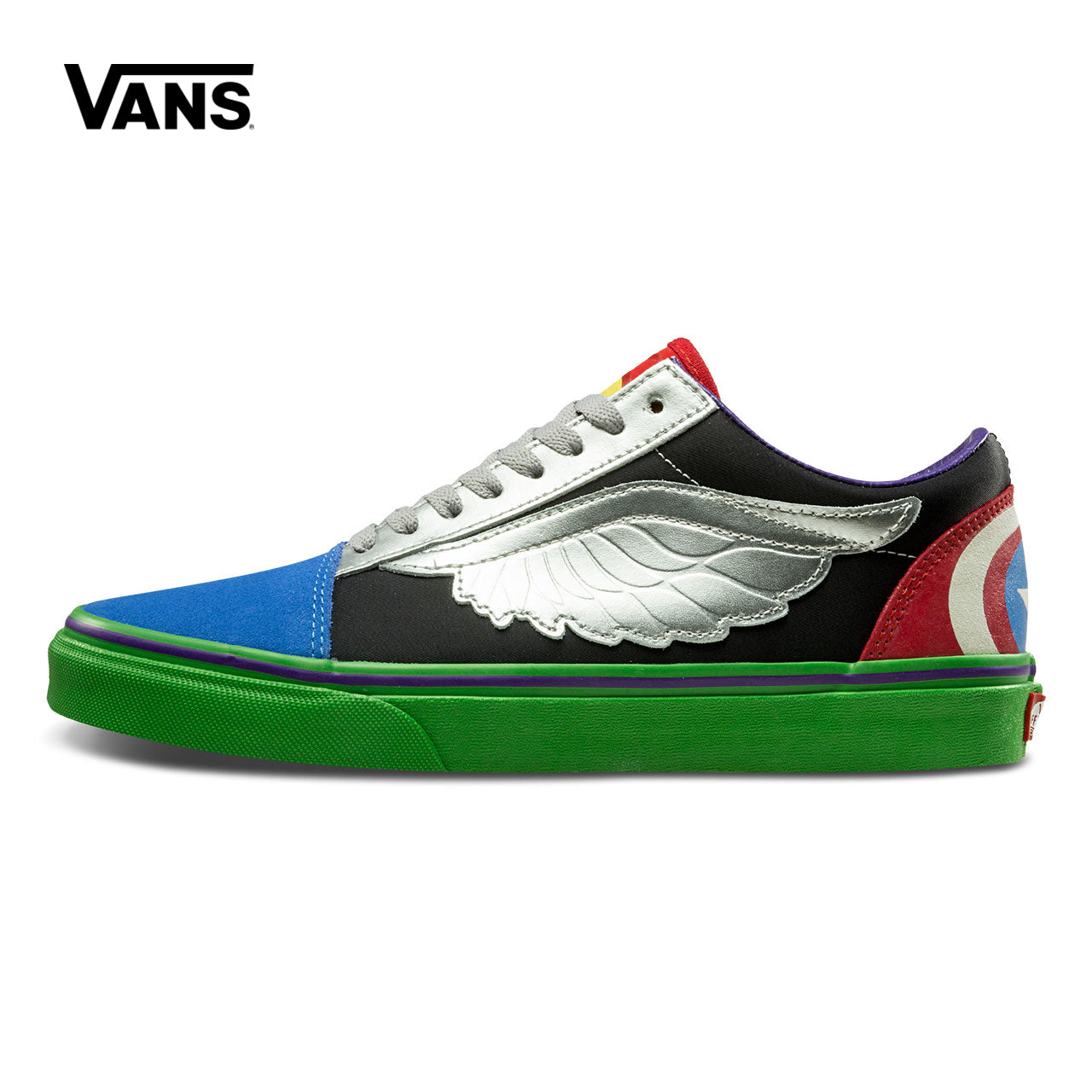 Vans Super Hero Custom Old Skool Sneakers - Vn0A38G1U3V / 40.5 - Skateboarding