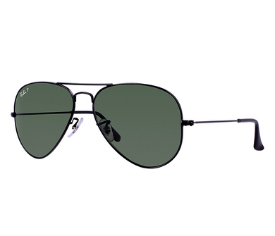 Aviator Classic Polarized Green G-15 Sunglasses - Sunglasses
