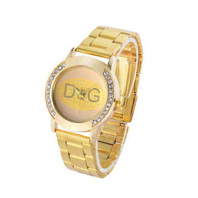 Womens Stainless Steel Quartz Watch $22 - Gold - Womens Watches