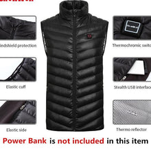 Heated Electric Vest or Hoodie Jacket On Sale! - Hamarin i2