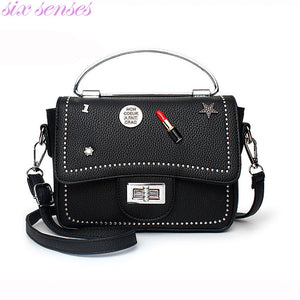 Women's PU Leather Vintage Shoulder Bag