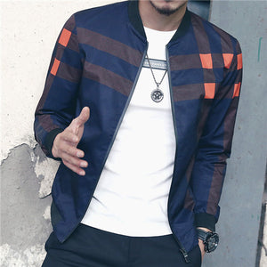 New Arrival Men's Patchwork Jacket M to 5XL