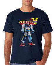 Voltes V Mazinger Z Classic 70S Cartoon Cotton T-Shirts - Voltes V Blue / S - T-Shirts