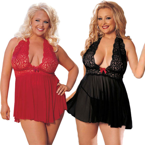 Sexy Lingerie Corset With G-string 2 Piece Set Plus Size up to 6XL