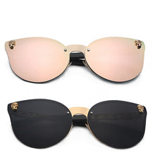 Big Frame Cateyes Women Sunglasses - Hamarini2