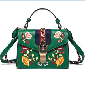 Vintage Embroided Handbag