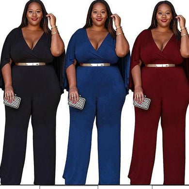 Women's Casual Plus Size Jumpsuits - Hamarin i2