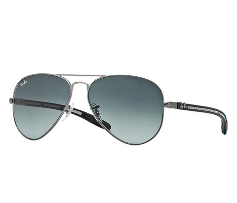 Ray Ban AVIATOR CARBON FIBRE Grey Gradient