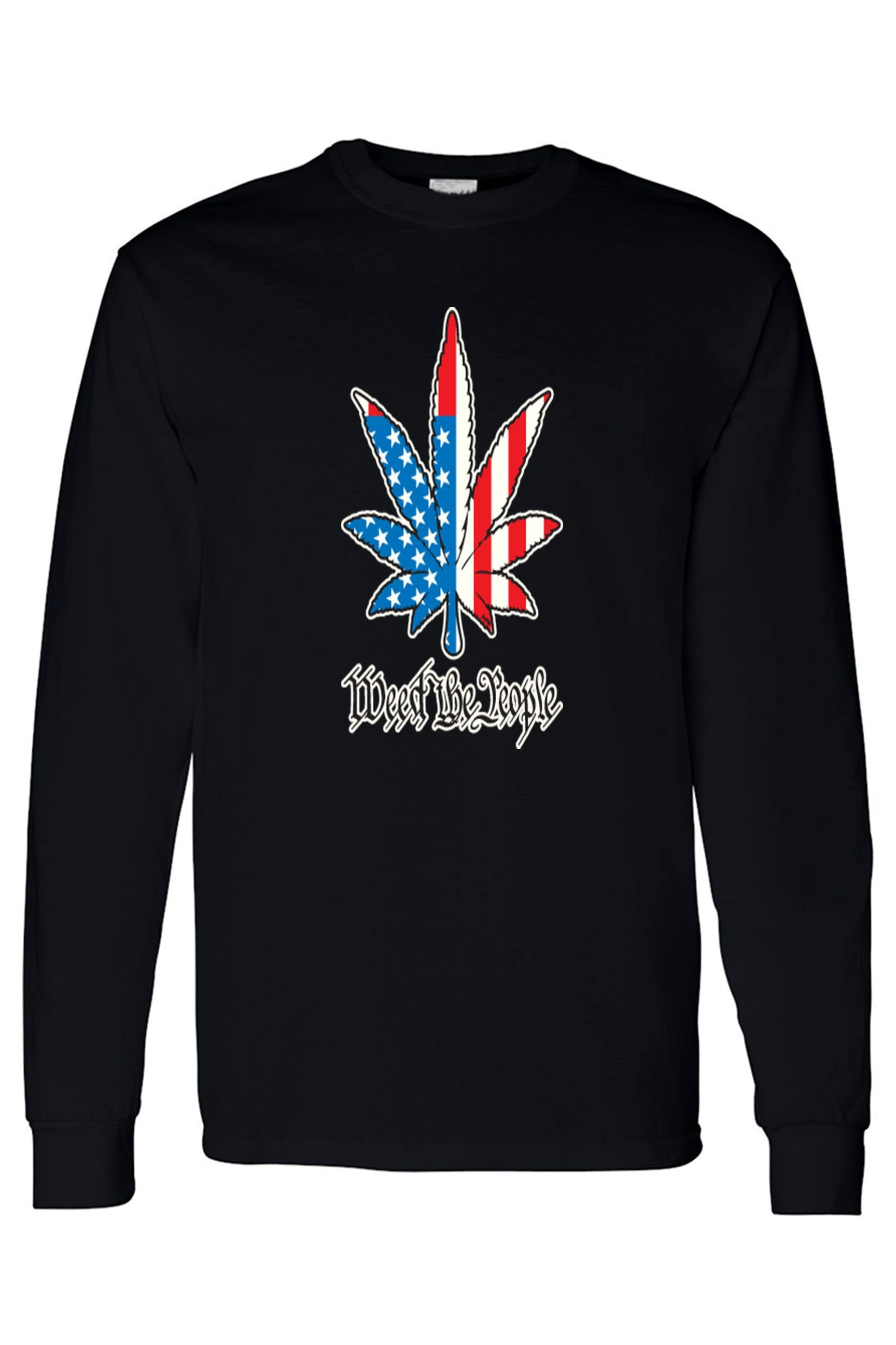 Weed The People Long Sleeve Shirt. Ships From Usa - Black / 3Xl - Shirt