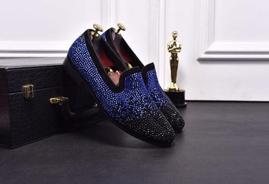 Rhinestones Smokin Loafers - Option Picture Color / 1 / Us5 - Shoes