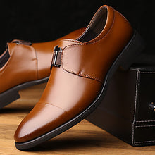 Men's Fashion Casual Business Genuine/Real Leather Shoes/Oxfords - Shoprodite.com