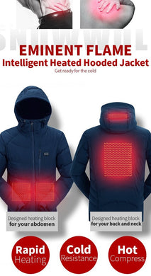 Heated Electric Vest or Hoodie Jacket On Sale!