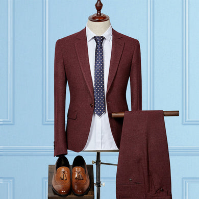 Men's Business or Wedding Suit (jacket+pants) - Hamarini2