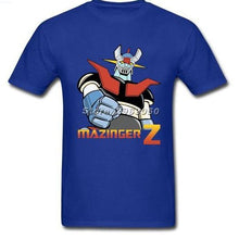 Voltes V Mazinger Z Classic 70S Cartoon Cotton T-Shirts - Men Black No 7 / S - T-Shirts