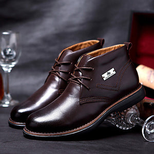 Men's Shoes Casual Leather Boots