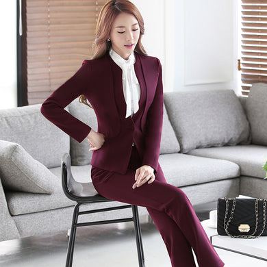 Womens Business Suit In 3 Colors And Options. S To 4Xl - Suits