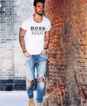 Boss Man Boss Lady & Mini Boss Matching Family T Shirts (Free With Purchase) - Boss Man / S - T Shirts