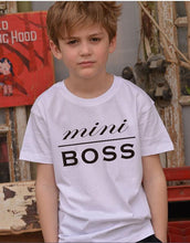 Boss Man Boss Lady & Mini Boss Matching Family T Shirts (Free With Purchase) - T Shirts