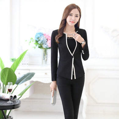 Womens Business Pant Suits Ol Style S To 3Xl - Suits