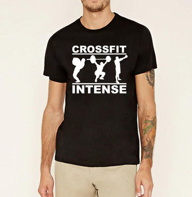 Crossfit Intense fitness t shirt - hamarini2.com