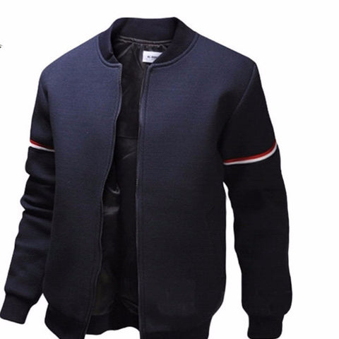 Men's Mandarin Collar Jacket
