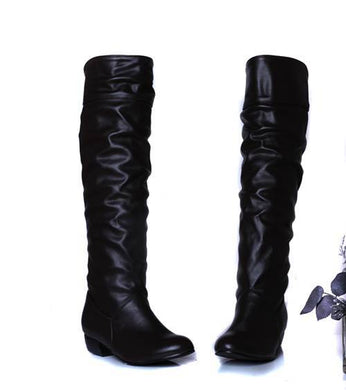 Women's Boots Black White Brown up to size 12 - Hamarini2