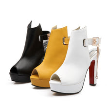 High Heels Pumps Peep Toe Shoes For Women - Shoes