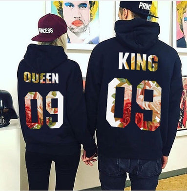 Couples King and Queen Hoodies - Hamarini2