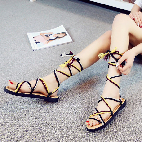 Women's Roman Ankle-Strap Sandals - Andre's Store