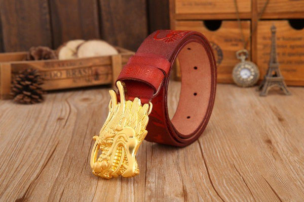 Dragon Luxury Leather Belt - Andre's Store