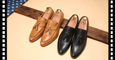 Mens Pointed Toe Dress Shoes - Shoes