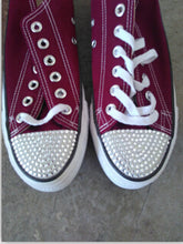 Converse All Star Chuck Taylor Custom Sneakers - Custom / Dark Red / Us3.5 - Sneakers