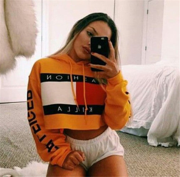 Short Pullover Hoodies for Girls - Andre's Store