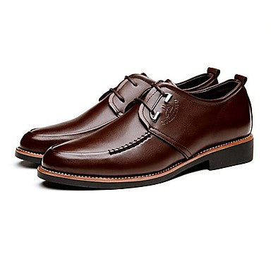 Men's Shoes Office & Career/Casual Leather Oxfords Brown